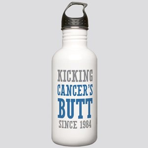 Cancers Butt Since 1984 Stainless Water Bottle 1.0