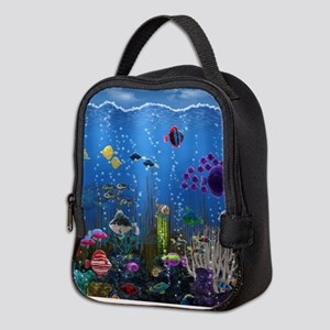 Underwater Love Neoprene Lunch Bag