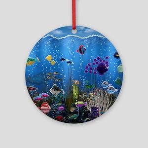 Underwater Love Ornament (Round)