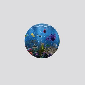 Underwater Love Mini Button