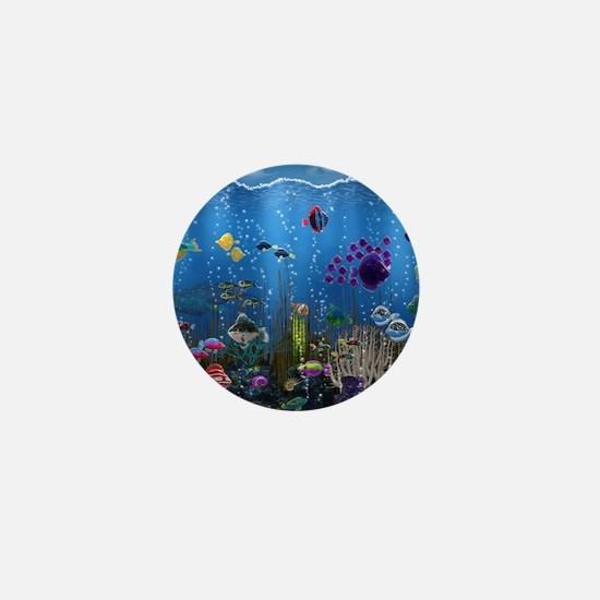 Underwater Love Mini Button