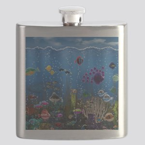 Underwater Love Flask