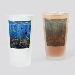 Underwater Love Drinking Glass