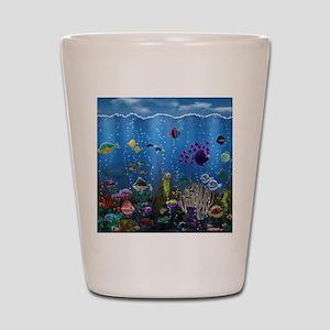 Underwater Love Shot Glass