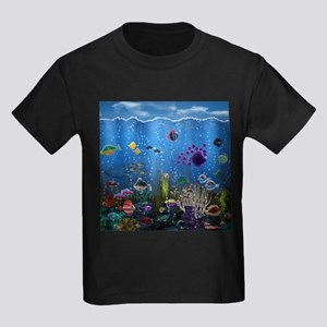 Underwater Love Kids Dark T-Shirt