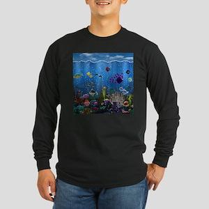 Underwater Love Long Sleeve Dark T-Shirt