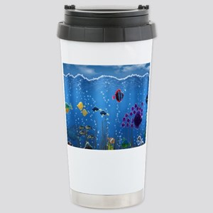 Underwater Love Stainless Steel Travel Mug