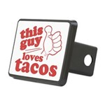 This Guy Loves Tacos Hitch Cover