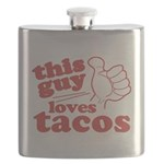 This Guy Loves Tacos Flask