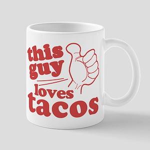 This Guy Loves Tacos Mug