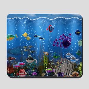 Underwater Love Mousepad