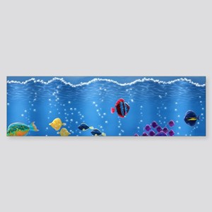 Underwater Love Sticker (Bumper)
