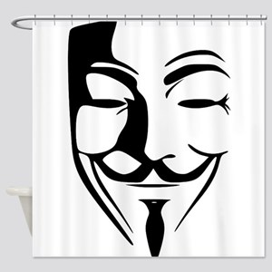 Guy Fawkes Shower Curtain