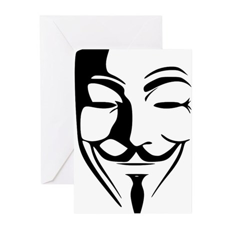 Guy Fawkes Greeting Cards (Pk of 10)
