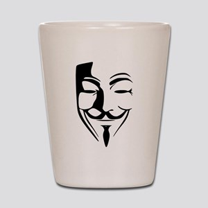 Guy Fawkes Shot Glass