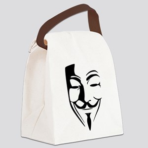 Guy Fawkes Canvas Lunch Bag