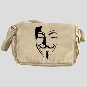 Guy Fawkes Messenger Bag