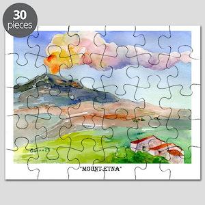 Sicilian Mt. Etna Puzzle