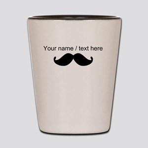 Personalized Mustache Shot Glass