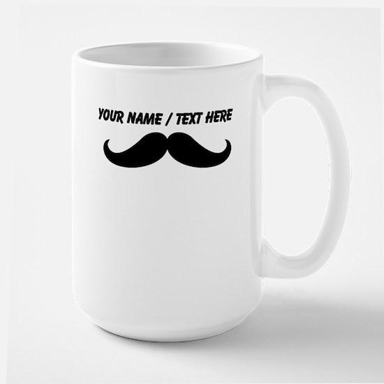 Personalized Mustache Mug