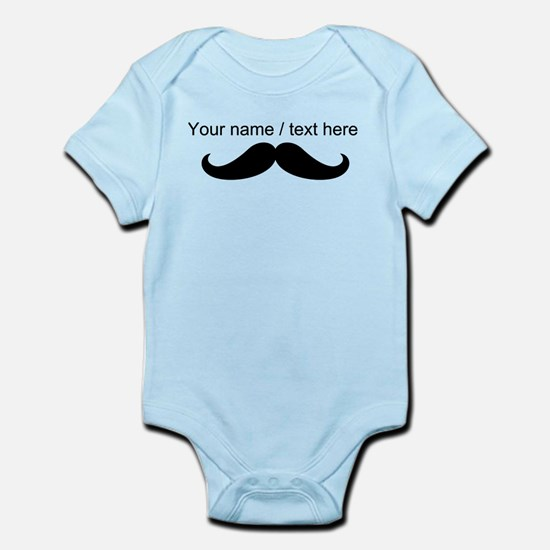 Personalized Mustache Body Suit