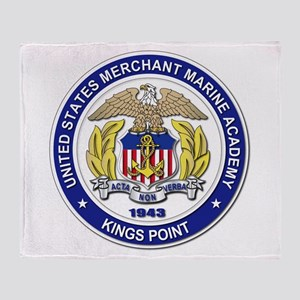 Merchant Marine Academy Throw Blanket