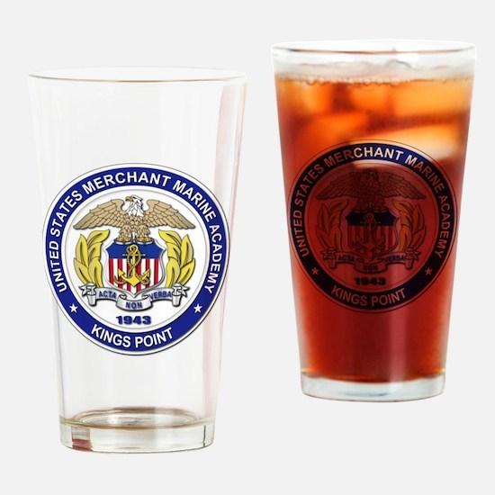 Merchant Marine Academy Drinking Glass
