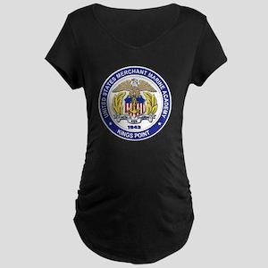 Merchant Marine Academy Maternity Dark T-Shirt