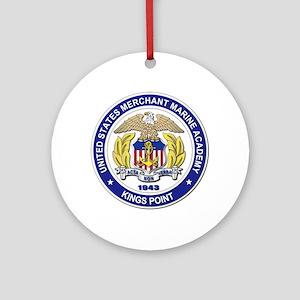 Merchant Marine Academy Ornament (Round)