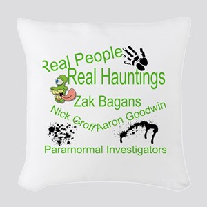 Ghost Adventures Woven Throw Pillow