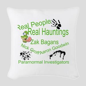 Ghost Adventures Woven Throw Pillow