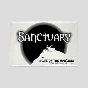 Sanctuary Staff Rectangle Magnet