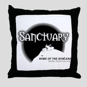 Sanctuary Staff Throw Pillow