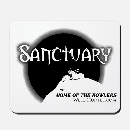 Sanctuary Staff Mousepad