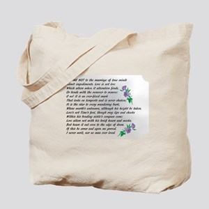 Sonnet 116 Tote Bag