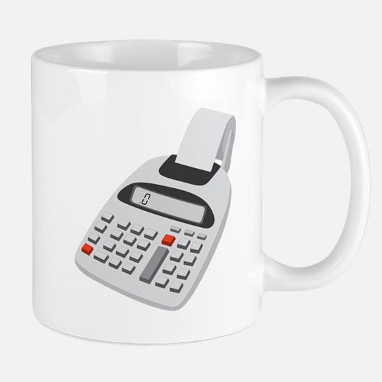 Adding Machine Calculator Mug