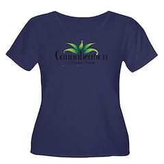 Cannabration Logo Plus Size T-Shirt