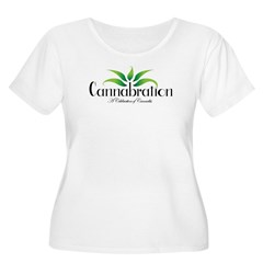 Cannabration Logo Plus Size T-Shirt