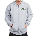 Cannabration Logo Zip Hoodie