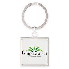 Cannabration Logo Keychains
