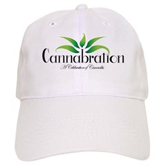 Cannabration Logo Baseball Baseball Cap
