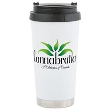 Cannabration Logo Travel Mug