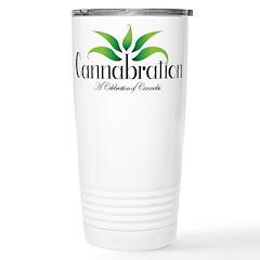 Cannabration Logo Travel Mug