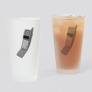 Vintage Cellphone Drinking Glass
