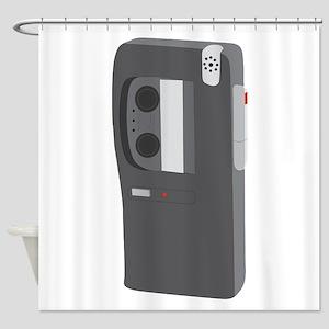 Cassette Recorder Shower Curtain