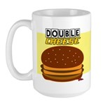 Double Cheese Mug Mug