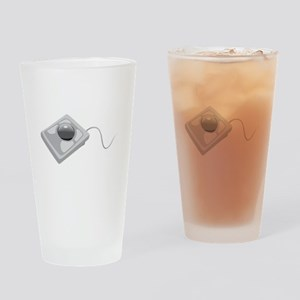 Trackball Mouse Drinking Glass