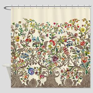 Rococo Court Mantua Shower Curtain