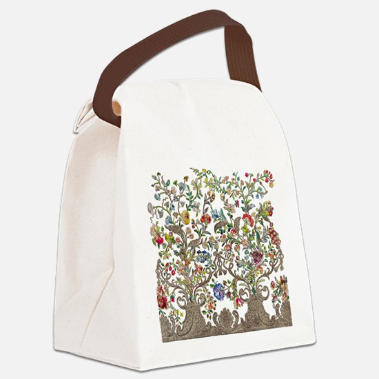 Rococo Court Mantua Canvas Lunch Bag