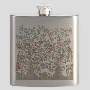 Rococo Court Mantua Flask